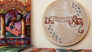 I Solemnly Swear - Harry Potter Hoop Art