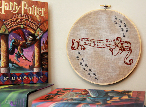 Free Harry Potter Hoop Art Pattern
