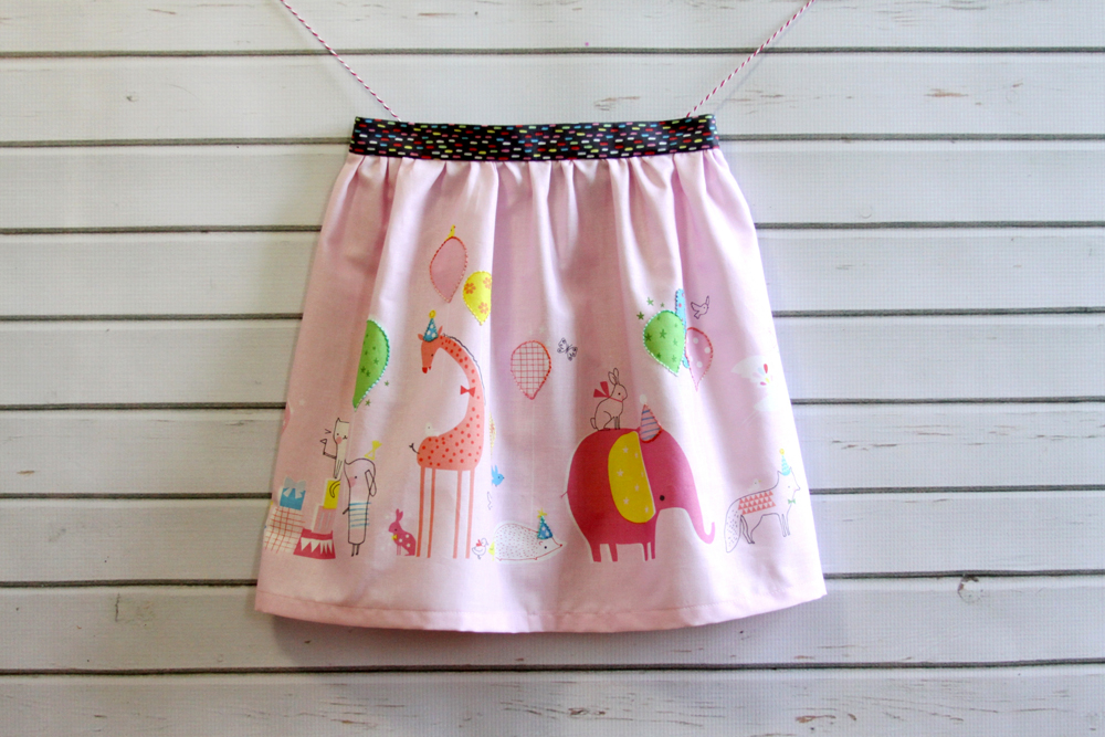 Gathered Waist Skirt
