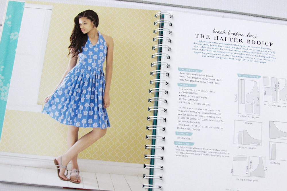 How to Sew a Halter Dress