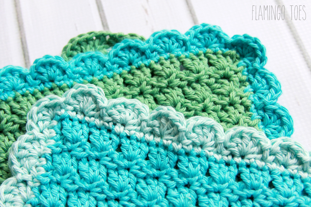 Scallop Crochet Edging