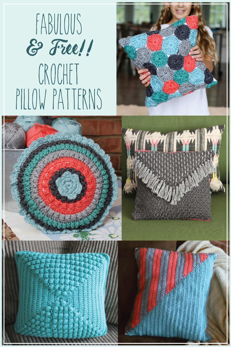 Fabulous and Free Crochet Pillow Patterns