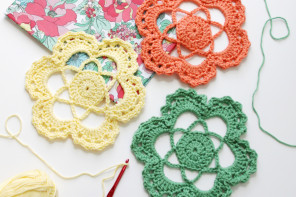Easy Crochet Flower Medallion