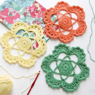Easy Crochet Flower Medallion