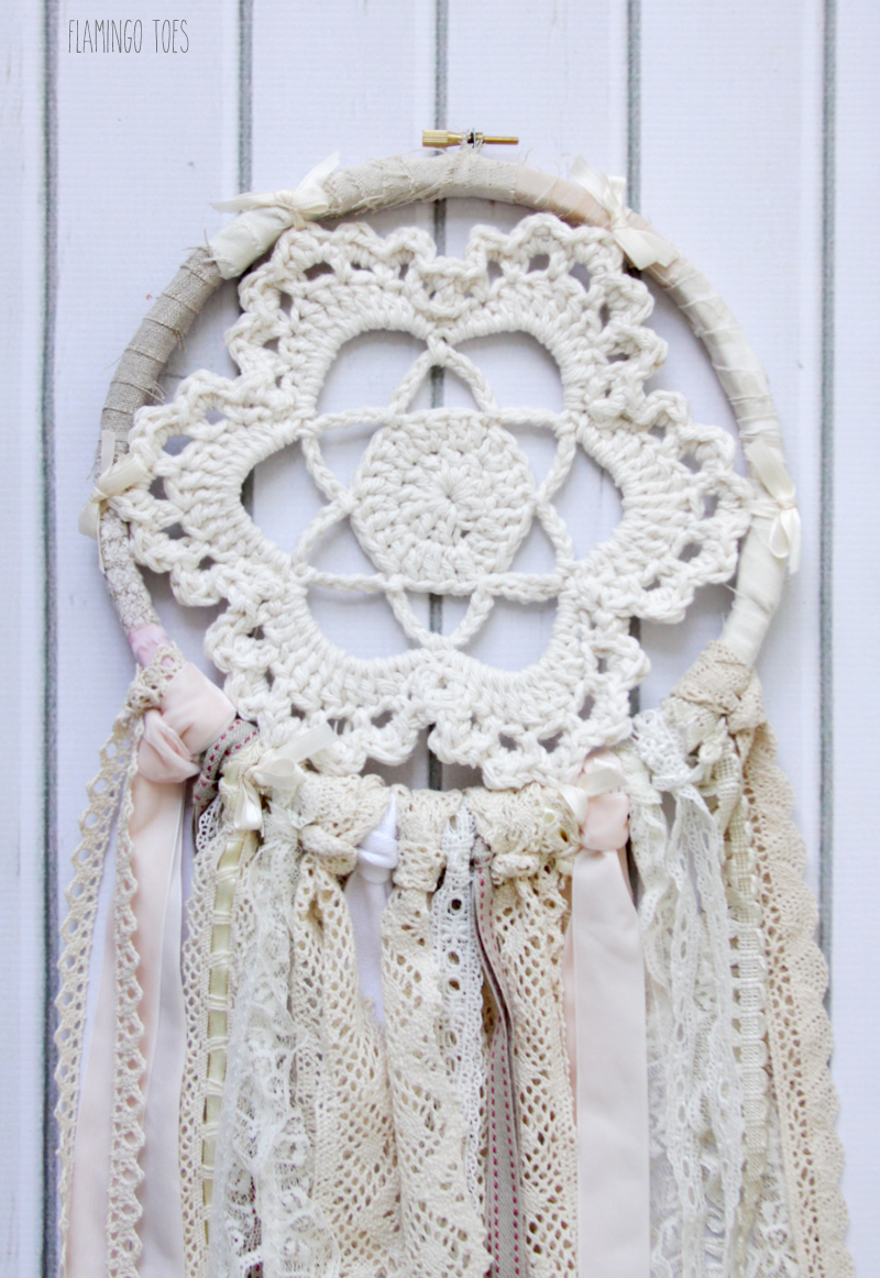 Crochet Medallian Dreamcatcher