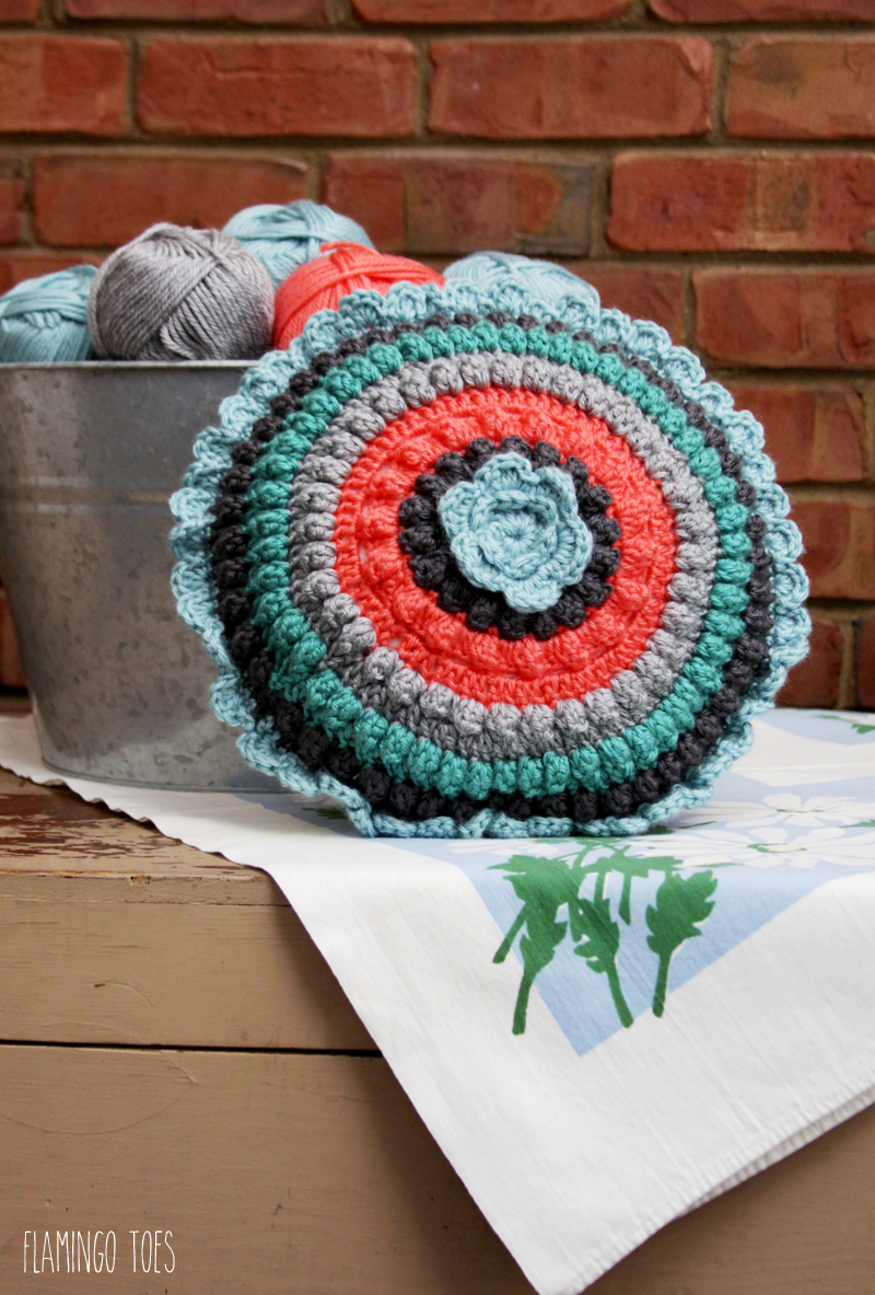 Crochet Pillow Tutorial