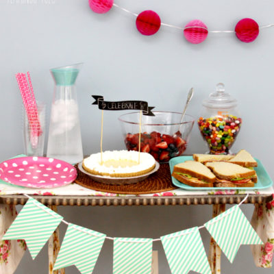 Simple and Easy End of Summer Party