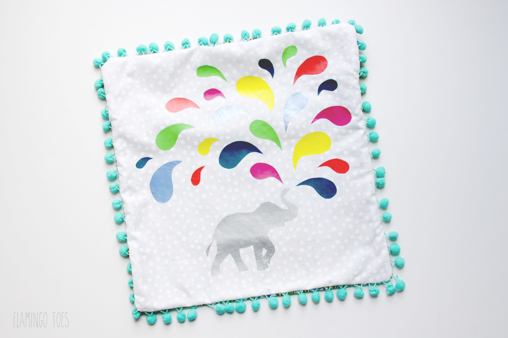 Elephant Pillow Cover