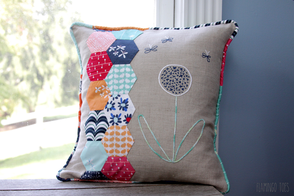 Fabric Hexagon Pillow