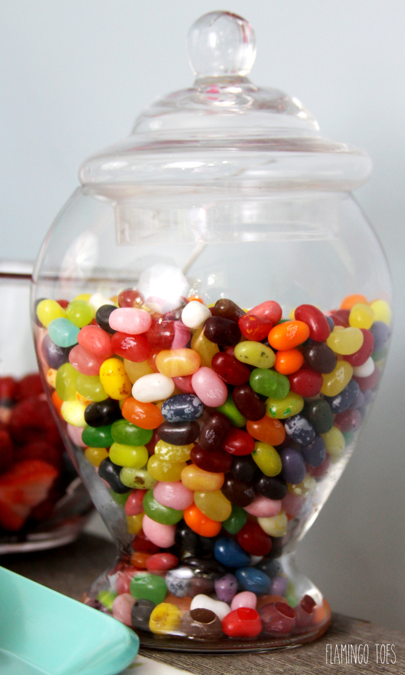 Fun Jar of Jellybeans for Party