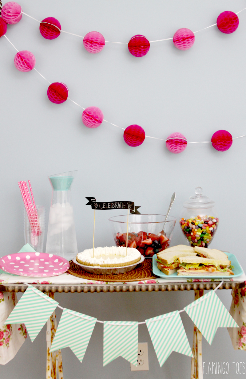 Quick and Easy Party Set Up