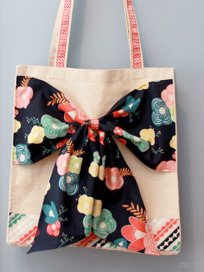 Canvas Tote Refashion