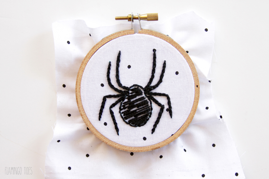 Embroidery Spider