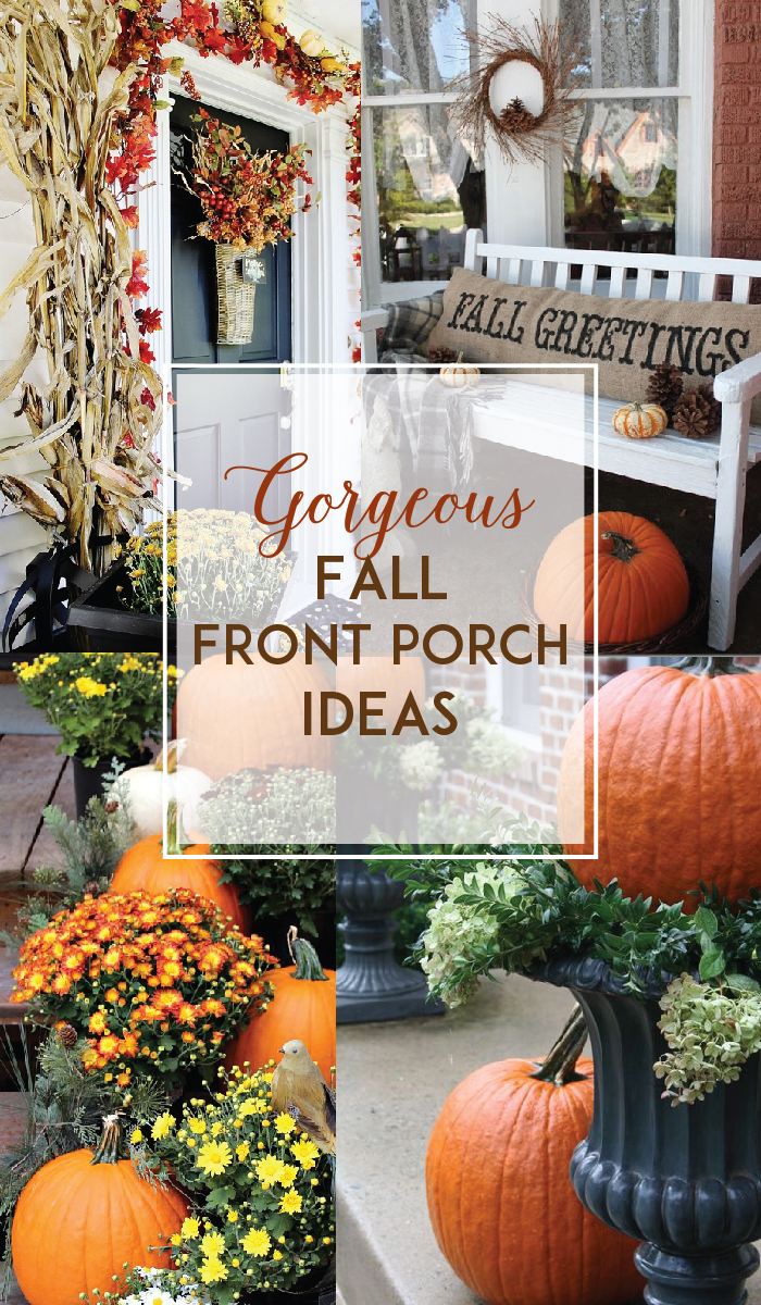 Gorgeous fall front porch inspiration - Fall front porch ideas ...