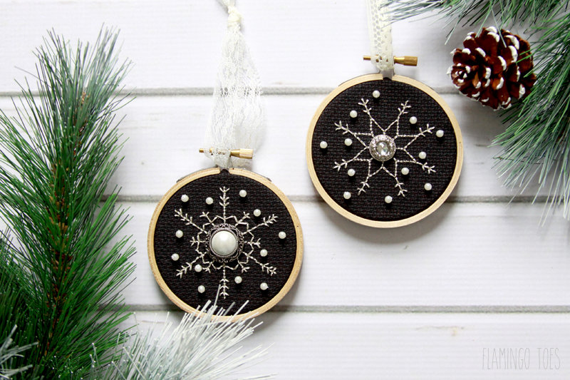 Shimmering Snowflakes Ornament