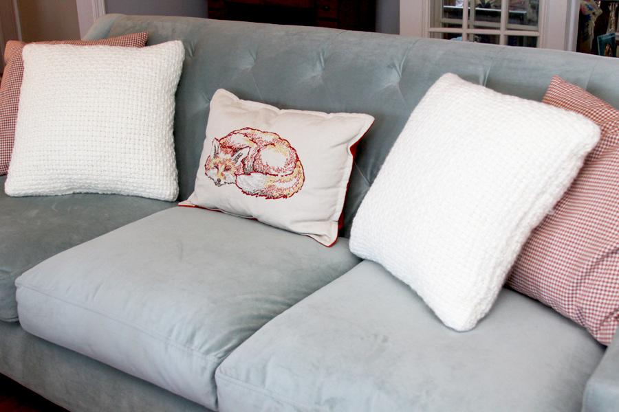 Cozy Textured Pillows