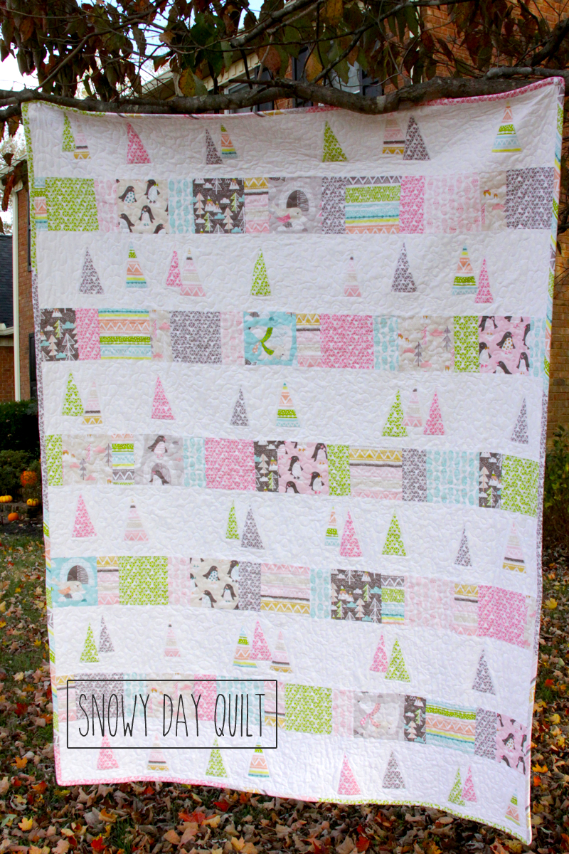 DIY Snowy Day Quilt