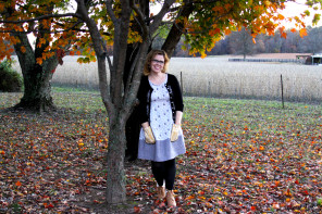 Hipster Kitty Dottie Angel Frock