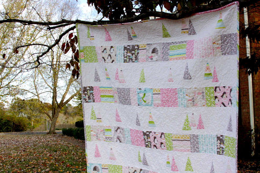Snowy Trees Quilt