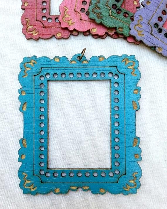 Turquoise Mini Frame