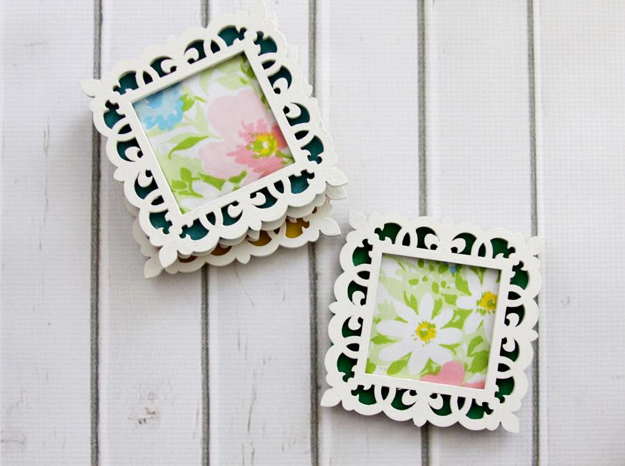 Vintage Fabric Coasters