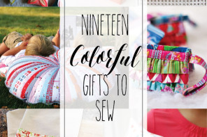 19 Colorful Handmade Gift Ideas