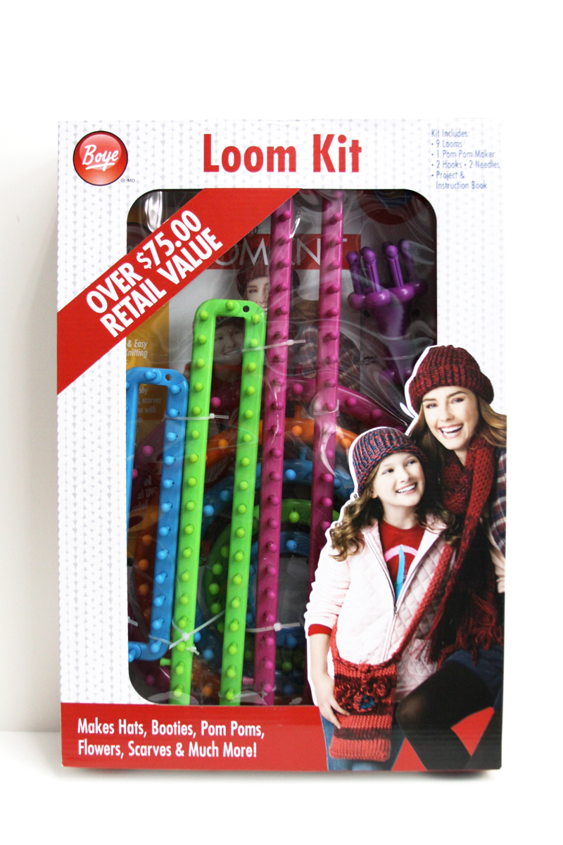 Knitting Loom Kit : Cute and easy knitting loom cowl