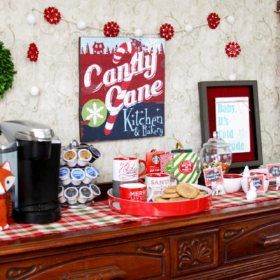 Cozy Winter Cocoa Bar
