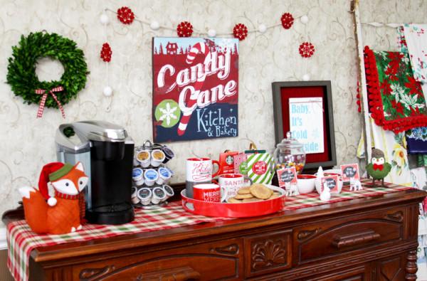 Christmas Cocoa Bar