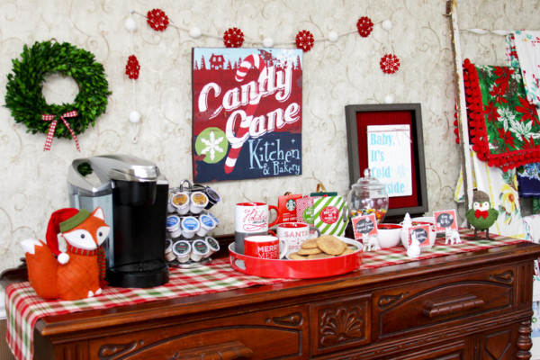 Christmas Cocoa Bar