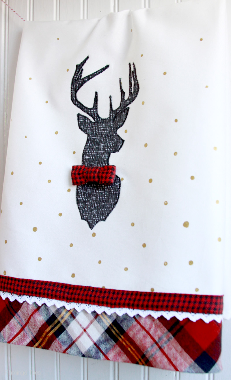 Dapper Deer Dish Towel