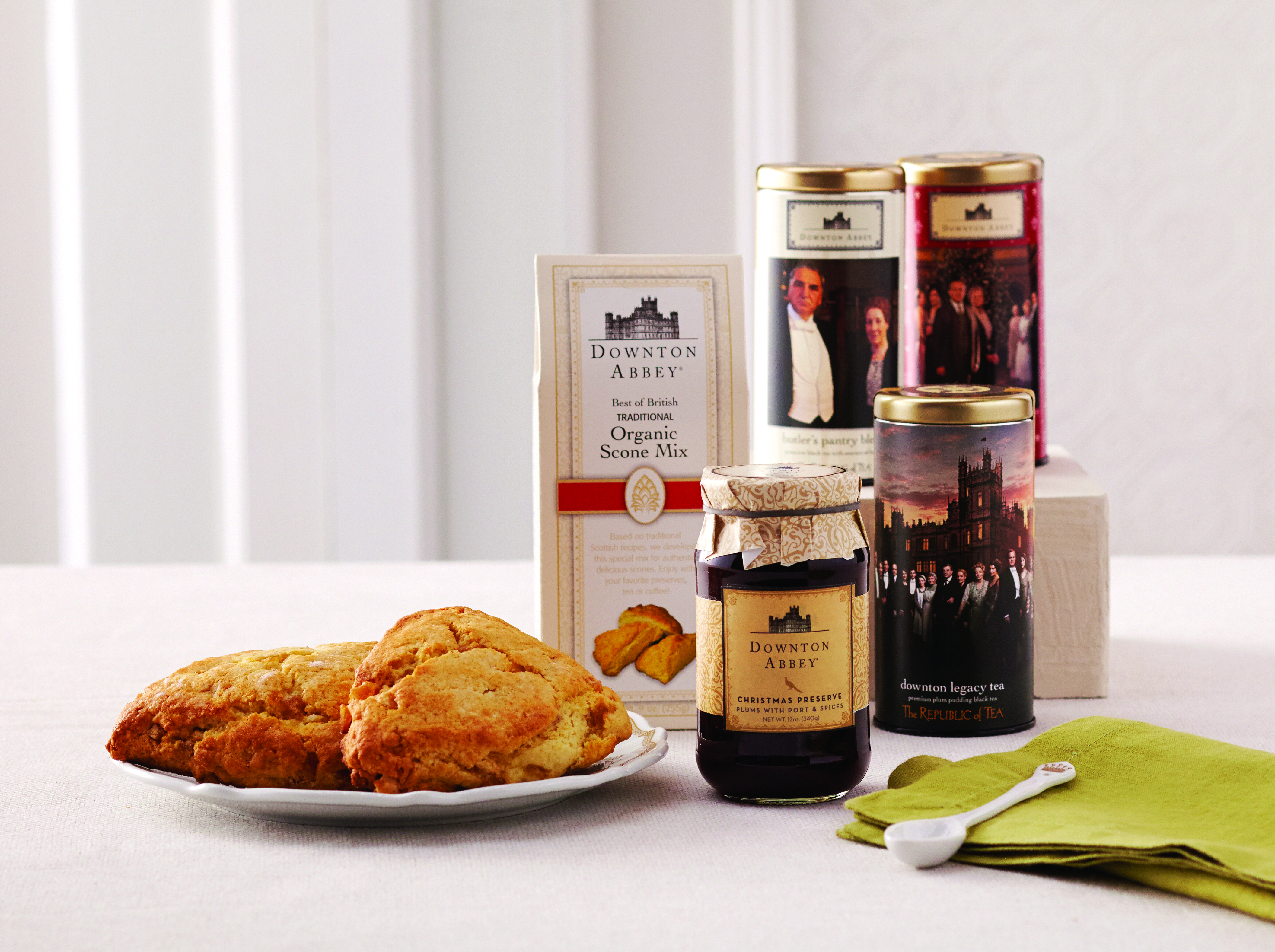 Yummy Scones and Preserves inspired by Downton Abbey at Cost Plus World Market