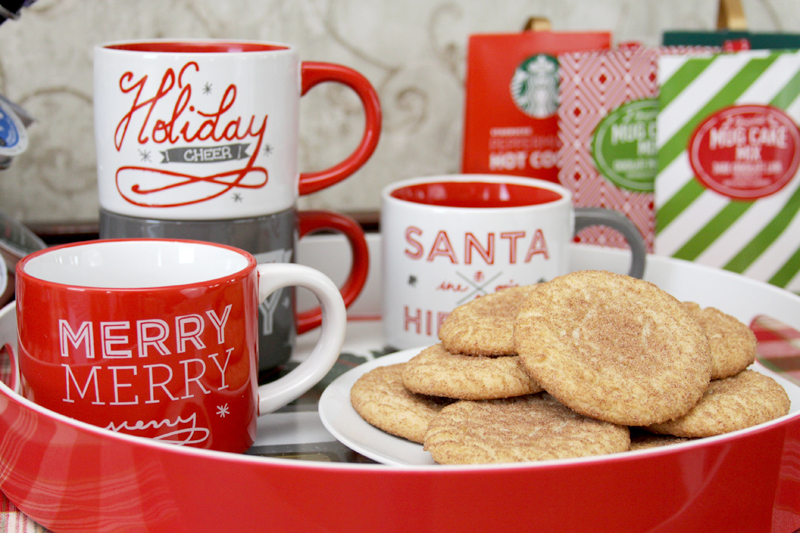 Holiday Mugs for Cocoa Bar