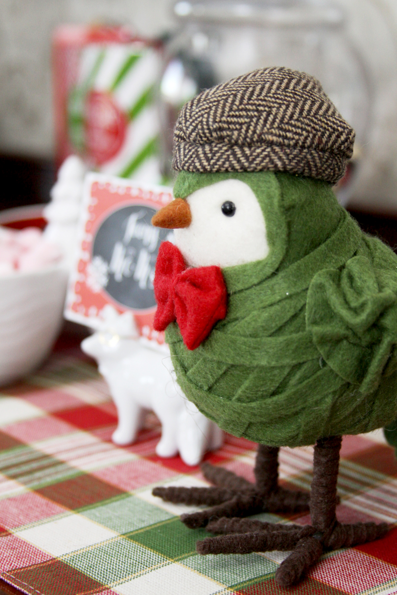 Little Dapper Bird Decoration