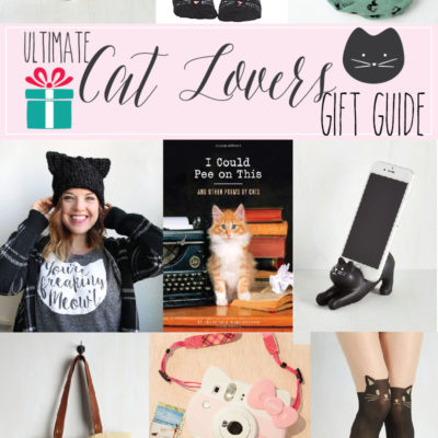Ultimate Cat Lovers Gift Guide