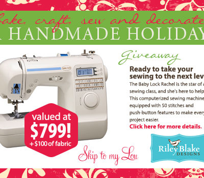 Fabulous Sewing Giveaway