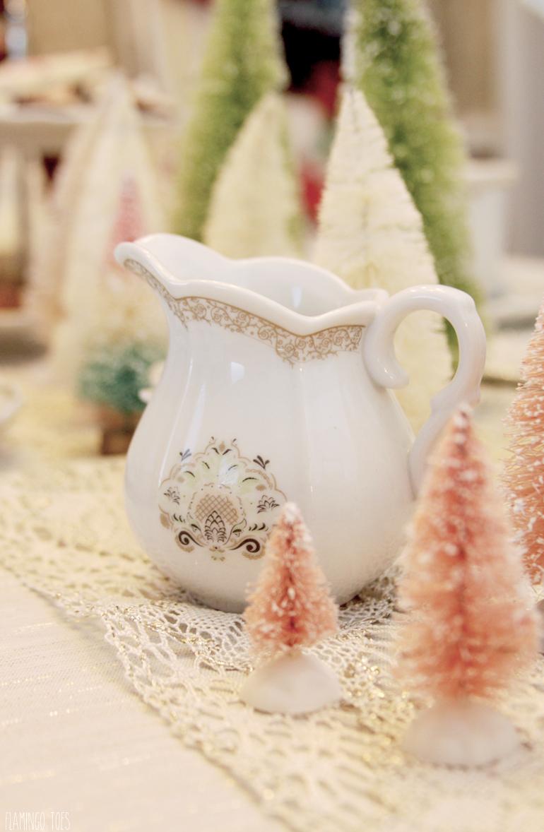 Christmas Tea Party Creamer
