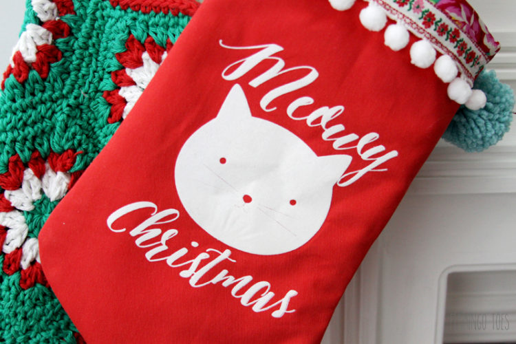 Cute Kitty Stocking