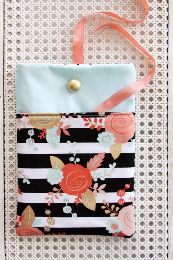 DIY Fabric Tablet Cover