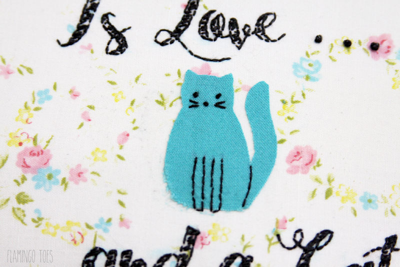 Little Cat embroidery
