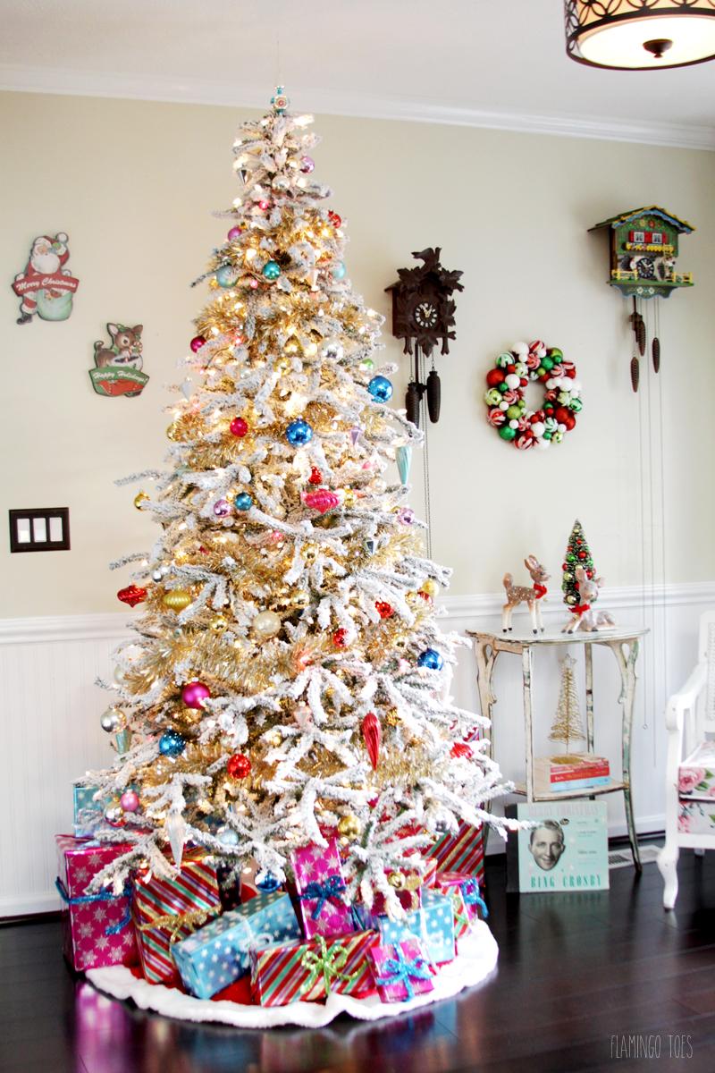 Mid-Century Style Christmas Tree