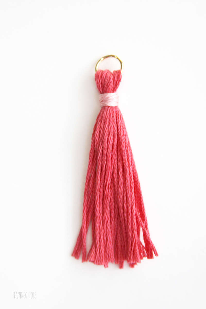 Mini Tassel Zipper Pull