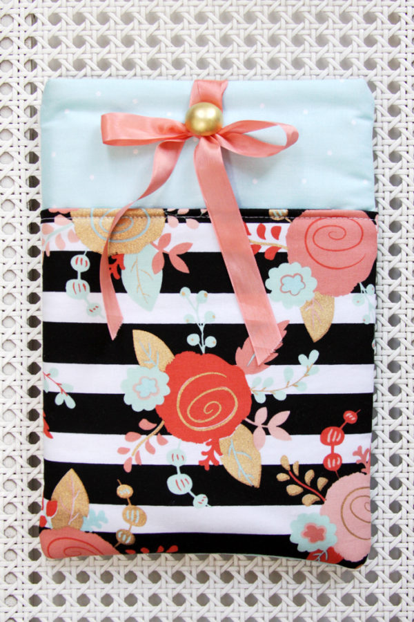 Ribbon Tie Tablet Cover
