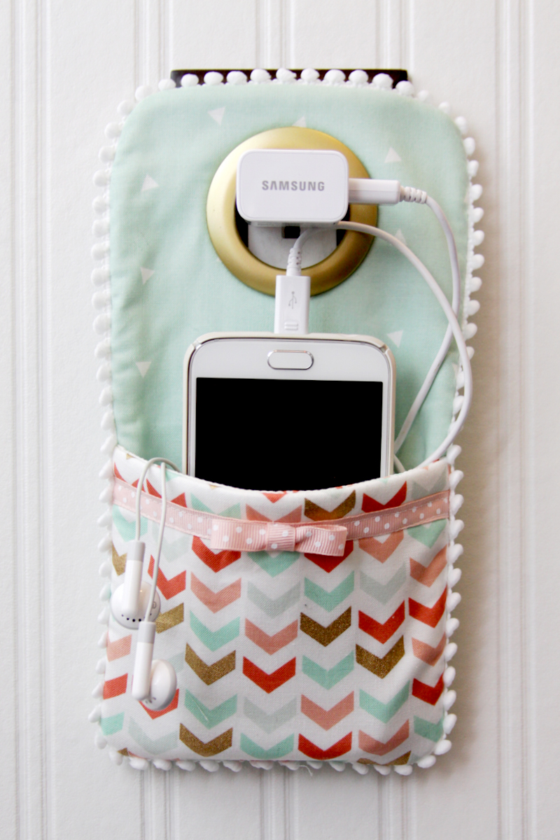 Cell Phone Wall Pocket