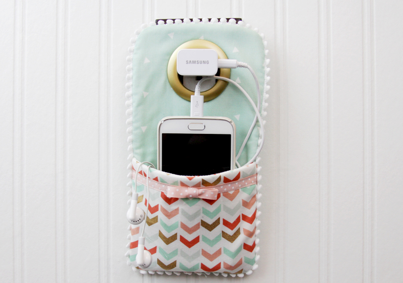 Easy diy phone charger holder Charger cord organizer diy