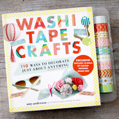 Washi Tape Crafts Book and Giveaway