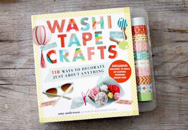 Washi Tape Crafts Book
