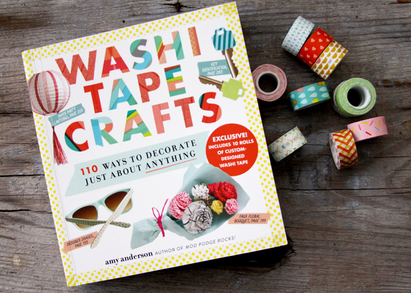 Washi Tape Crafts Book with Cute Washi Tape