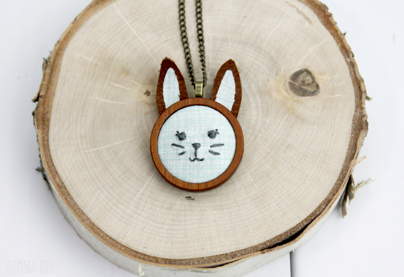 Cute Rabbit Pendant Necklace