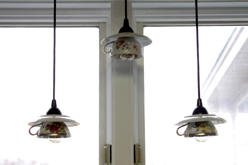 Teacup Pendant Lights